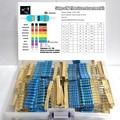 560pcs 1% 2W 56Values 0.22R ~1MOhm Metal Film Resistors Assorted Kit 10pcs Each value