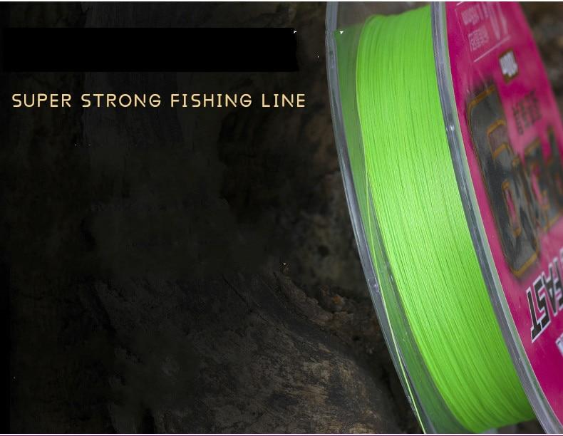 9 suporte trançado linha de pesca 100m