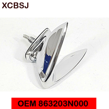 Emblème daile de capot pour Hyundai Equus OEM 863203N000, 2010 – 2013, pièces ornementales