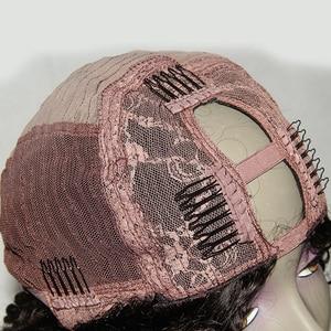 Image 3 - Luffyhair 250% 密度アフロ変態カーリーuの部分かつらモンゴルレミー人毛uの部分かつらアフロのカール女性