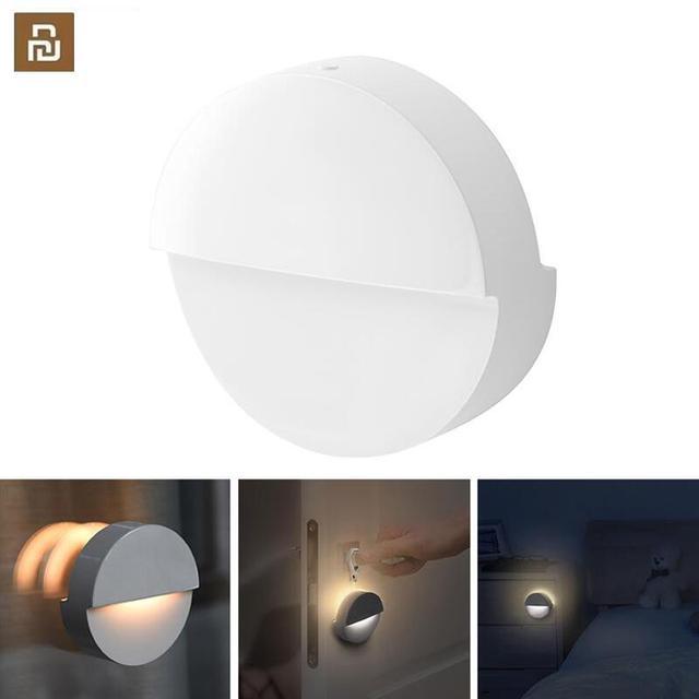 Youpin Philips Bluetooth LED gece ışığı indüksiyon koridor gece lambası kızılötesi uzaktan kumanda vücut sensörü Mi ev APP için