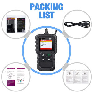 Image 5 - LAUNCH X431 CR3001 OBD 2 Auto Scanner Diagnostic Tool Multi language Creader ODB2 3001 Code Reader PK ELM327 V1.5 OM123