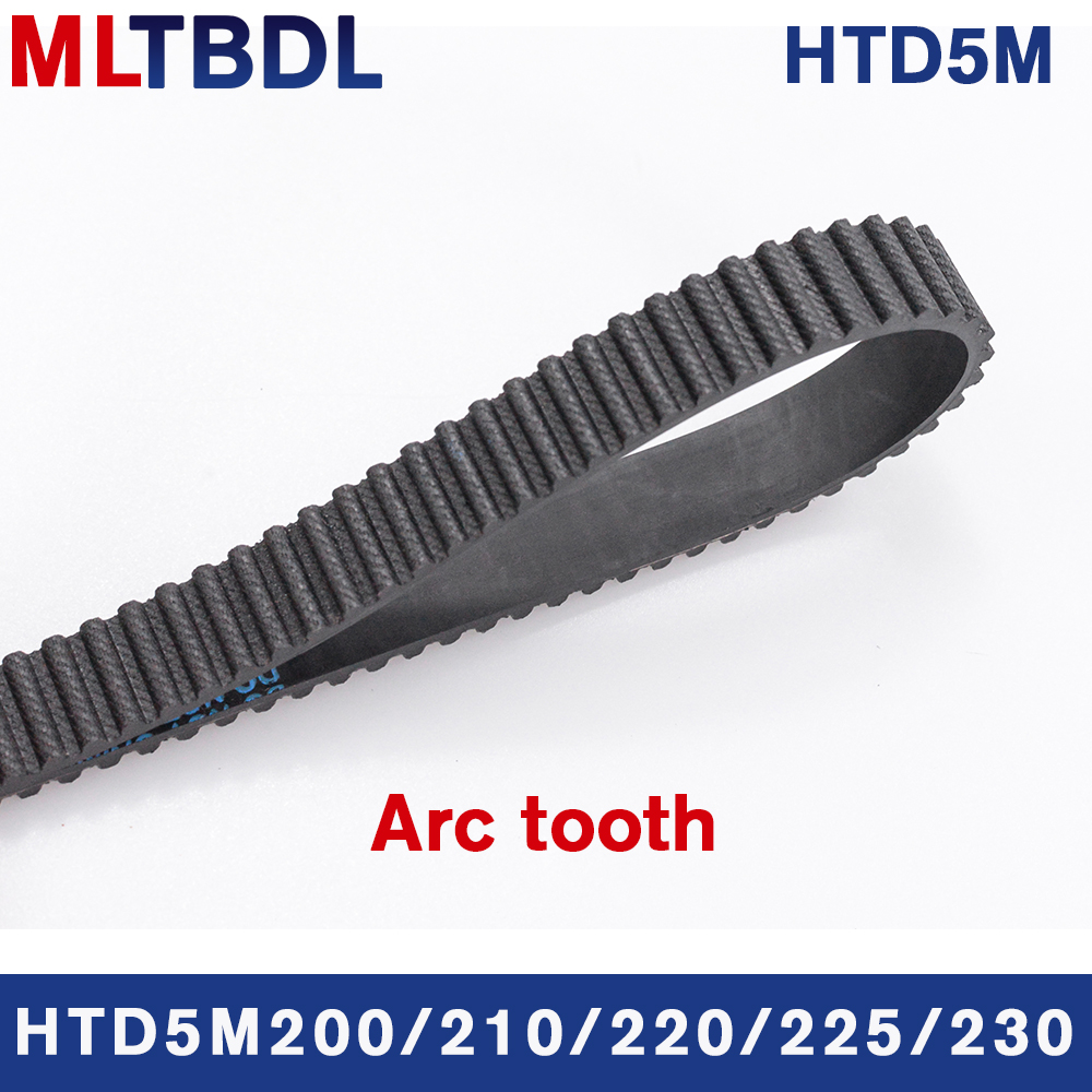 HTD 5M Timing Belt 240//245//250//255//260//265//270//275//280//285//290Mm 15//20//25Mm Width Toothed Belt Closed Loop Synchronous Belt