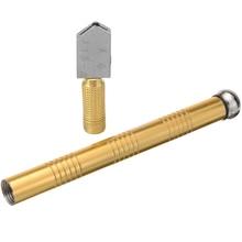 1pc Diamond Glass Cutter Metal Handle Sharp Wheel Blade Glass For DIY Tile Mirror Repair Diamond Cutting Tool