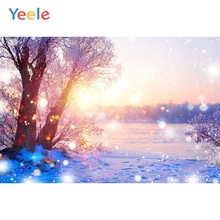 Christmas Backdrop Winter Snow Forest Newborn Baby Birthday Party Photography Background For Photo Studio Photocall Photophone allenjoy photophone background christmas winter wonderland pine forest snow painting backdrops photography studio photocall