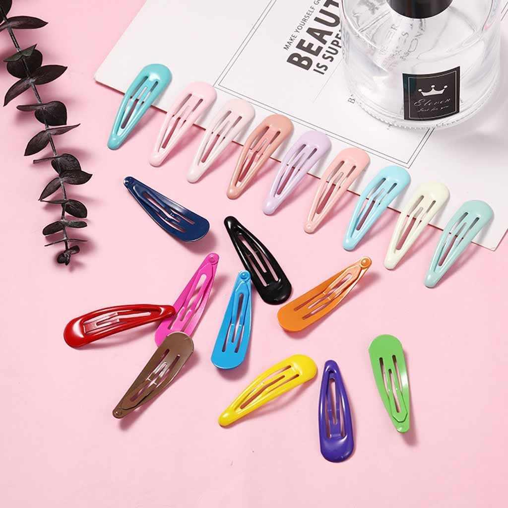 Hair Accessories Metal  Black Hair Clips  BB Clips Snap Hair Clips Hairpins