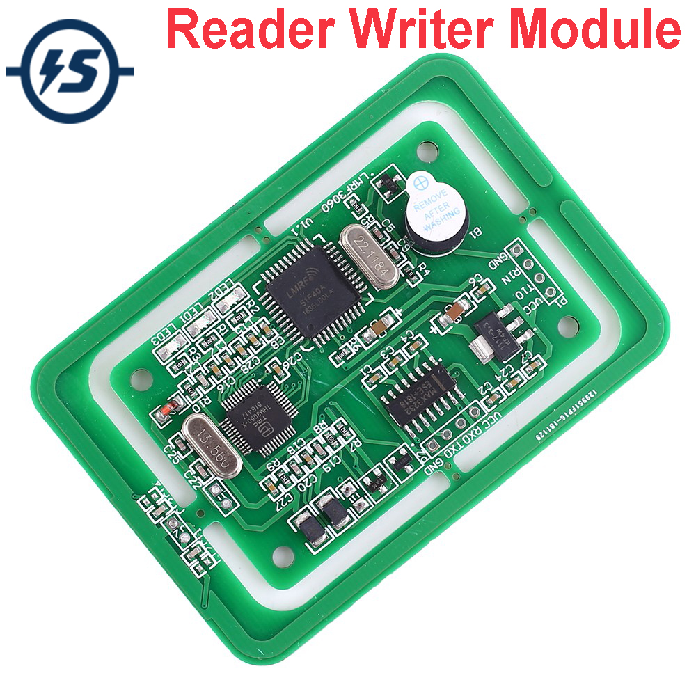 <font><b>5V</b></font> Multi-Protocol Card RFID Reader Writer Module LMRF3030 Development <font><b>Board</b></font> Interface UART TTL RS232 image