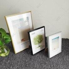 Aluminium Bilderrahmen Klassische Zertifikat Rahmen Für Wand Hängen Mit Kunststoff Glas Metall Foto Rahmen Für Bilder Poster Rahmen