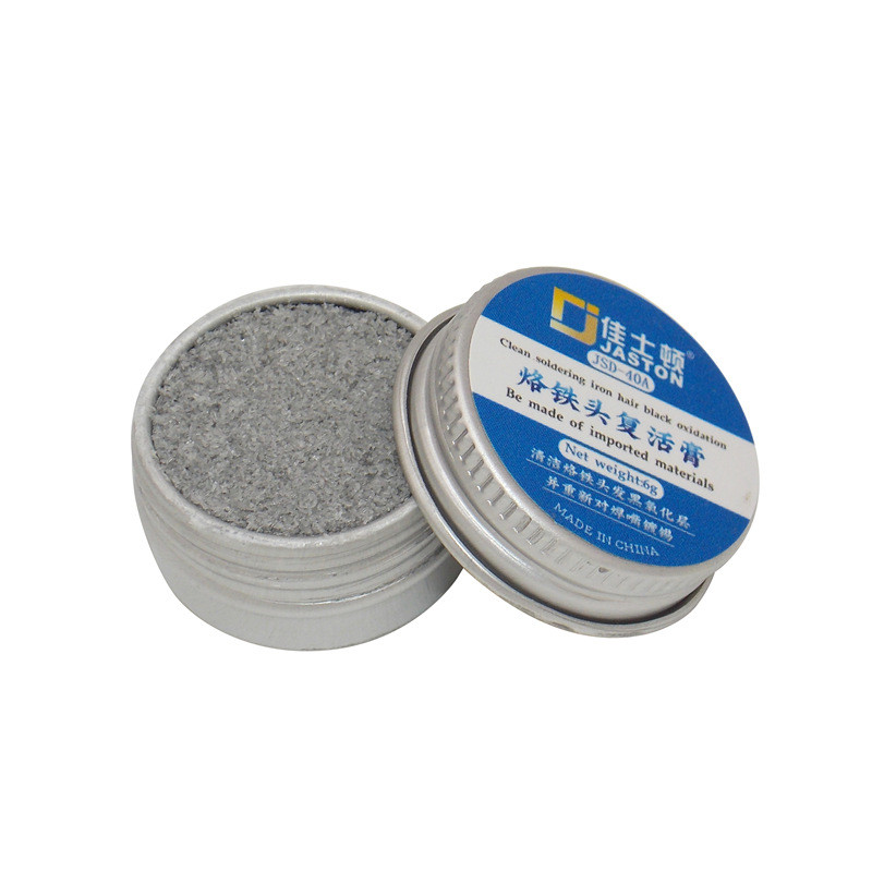 Urijk Electrical Soldering Iron Tip Refresher Solder Cream Clean Paste For Oxide Solder Iron Tip Head Resurrection