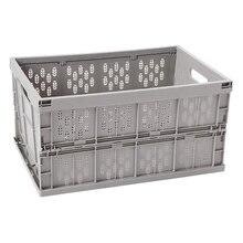Faltbare Lagerung Bin, Milch Kiste und Mehrweg Klapp Moving Box, 17,7 in X 12 in X 9 In, für Auto Die Organisation, Moving, Lange Ti