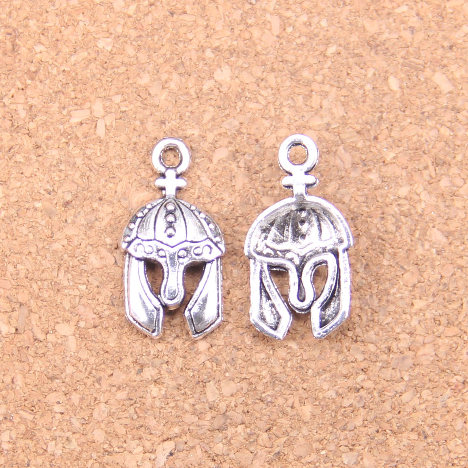 Mua 96pcs Charms soldiers helmet 24x12mm Antique Pendants,Vintage Tibetan Silver Jewelry,DIY for bracelet necklace