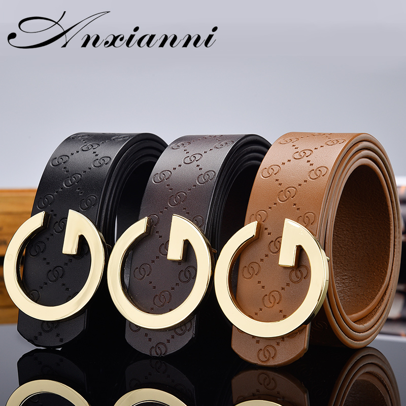 Luxury Designer High Quality Leisure Waistband Brand Belts Genuine Leather Male Women Jeans Vintage Fashion Waist Strap