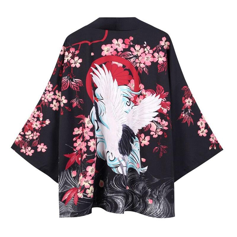 Kimono Cardigan Men Traditional Japanese Kimonos Yukata Men Shirt Japan Kimono Men Summer Fashion Japan Clothes