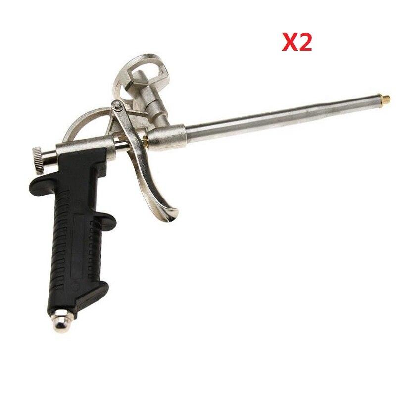KKTNSG 2PCS Caulking Foaming Gun Foam Sprayer PU Grade Expanding Spray Application Applicator