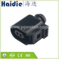 Frete grátis conjuntos 2pin plugue cablagem Auto Electri plasticconnector 5 8T0 6E0 973 702 973 702