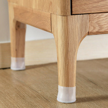 Hot Silicon Furniture Leg Protection Cover Table Feet Pad Floor Protector for Home D6
