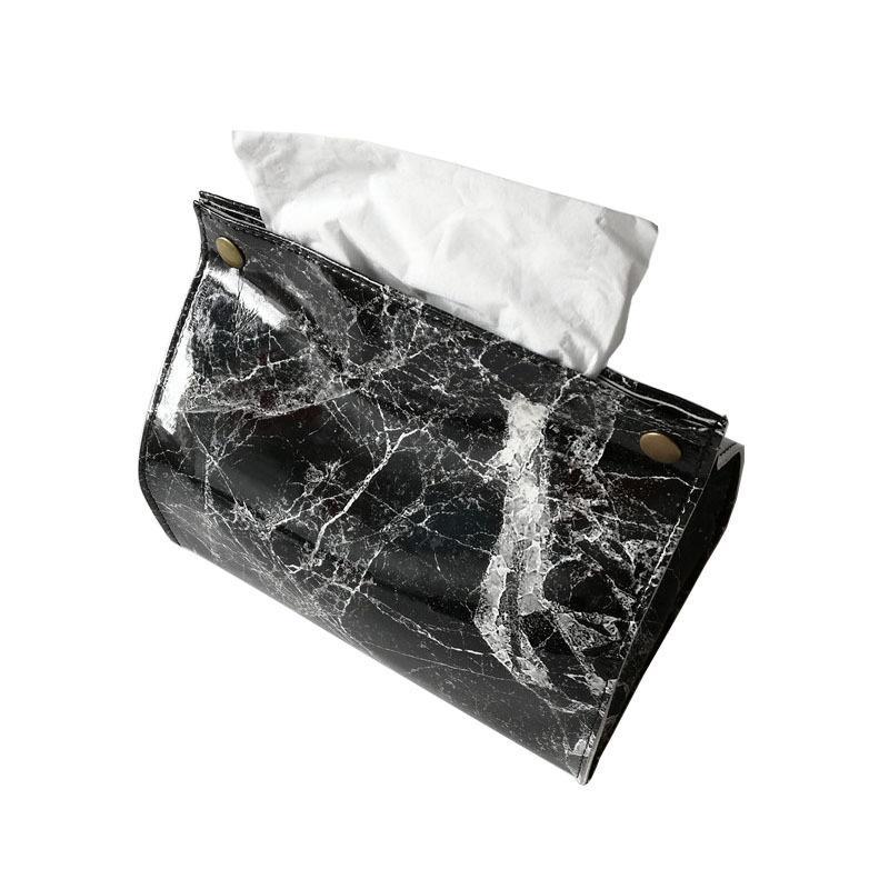 Купить коробка для салфеток из искусственной кожи в европейском стиле