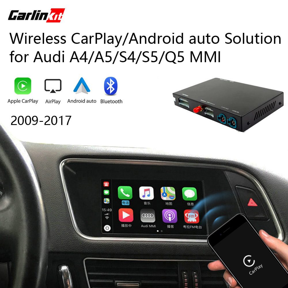 Carlinkit Decoder 2.0 CarPlay/Android Auto for AUDI A4 A5 S4 Q5 Q7 A4L Q5L 3G/3G+MMI Multimedia iPhone Android Wired Wireless(China)