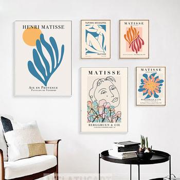 strong Import List strong Plakat i druki w stylu Matisse abstrakcyjne rośliny kolorowy obraz ścienny na płótnie Nude obraz do salonu dekoracje domowe w stylu nordyckim tanie i dobre opinie ICANVAS Wydruki na płótnie Pojedyncze PŁÓTNO Wodoodporny tusz bez ramki Nowe klasyczne Postmodernistyczne 20200823-01HY