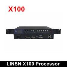 LINSN – processeur vidéo LED X100, contrôleur d'affichage tout-en-un avec carte d'envoi TS802