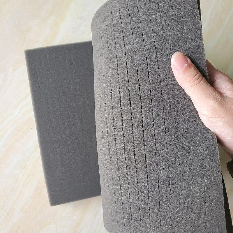 260*(220/240)*(40/30/25)mm Pre-cut Foam Soft Foam Protection Sponge For Tool Case