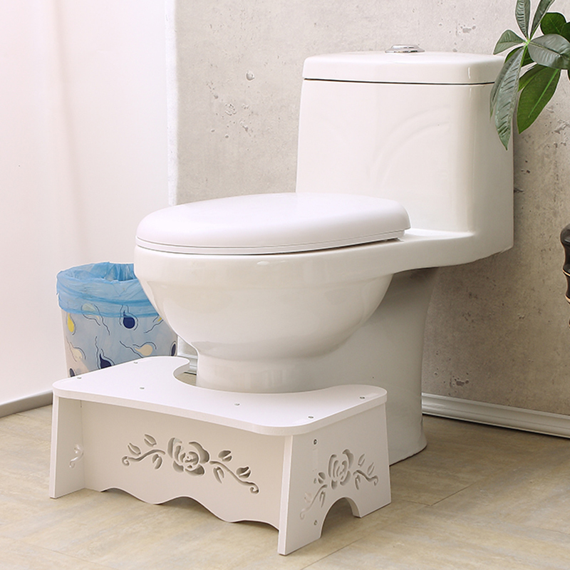 Image 4 - Last one cheap waterproof Stool Toilet Stool Convenient & Compact Great for Travel Fits all toiletsFolds for easy storage-in Bathroom Chairs & Stools from Furniture