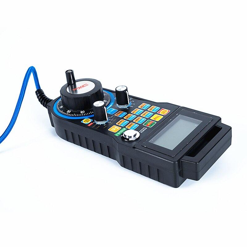 Cnc ручка USB Проводное управление mach3 система электронного ручного колеса LHB04B 4/6 управления для фрезерования с ЧПУ - 2