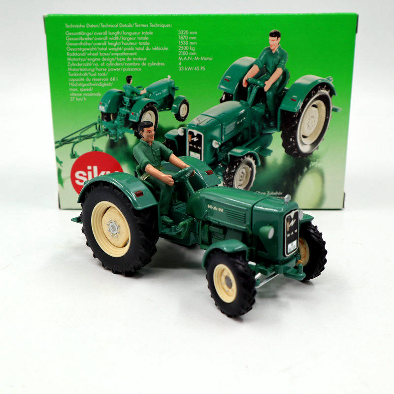 1:32 Siku 3465 Classic Man 4R3 Tractor Toys Car Diecast Models Collection