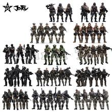 [Exclusivo] JOYTOY 1/18 de 3,75 figuras de acción armado militar fuerza Series (Figura adicional gratis) Anime modelo para regalo envío gratis
