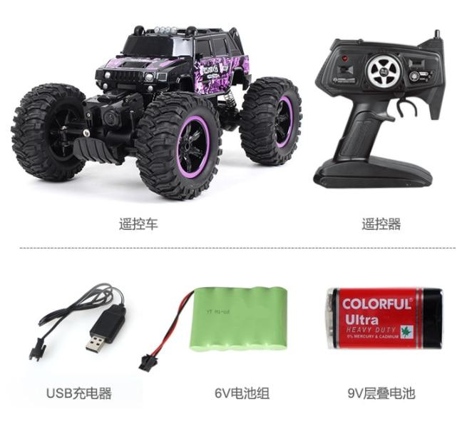 新ホット販売ラジオハンドル制御高速オフロード耐久性シミュレーション 4 × 4 1:14 ジープ 2.4 グラムロック壁 4WD クライミング rc カー