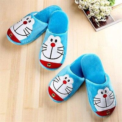 H5a7f9a2392b24d1daee35317936d66956 Anime japonês doraemon casa chinelos homem gordo azul anime sapatos doraemon cosplay unisex de volta para o futuro sapatos nobita nobi