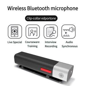 Image 4 - SabineTek SmartMike + Bluetooth Không Dây Lavalier Microphone Cho Máy DSLR Camera Điện Thoại Máy Tính Ve Áo Mic Vlogging Youtuber Ghi Âm