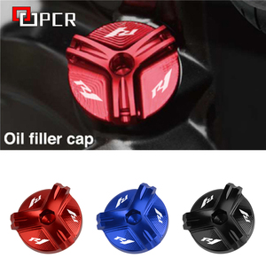 Image 1 - Motorcycle Cnc Aluminium Olievuldop Plug Cover Voor Yamaha R1 YZF R1 1998 2020 2019 2018 2017 2016