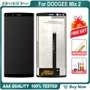 Image 4 - 100% Nguyên Bản Cho DOOGEE Pha 2 Màn Hình LCD & Bộ Số Hóa Màn Hình Cảm Ứng Có Khung Màn Hình Hiển Thị Màn Hình Module Sửa Chữa Thay Thế Phụ Kiện Mix2