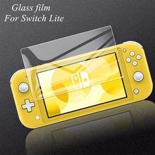 Película de vidrio templado para Nintendo Switch Lite, Protector de pantalla HD ultradelgado, a prueba de explosiones, táctil, para switch lite