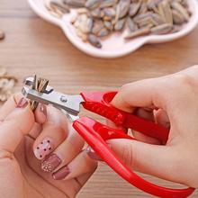 Шеллер открывалка из нержавеющей стали ореховая оболочка крекер семян Фисташка Шеллер открывалка пилинг плоскогубцы инструменты#2N26