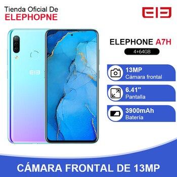 Перейти на Алиэкспресс и купить ELEPHONE A7H Helio P23 смартфон с восьмиядерным процессором 6,4 дюйма, ОЗУ 4 Гб, ПЗУ 64 ГБ, Android 9,0, 3900 мАч, быстрая зарядка, Распознавание отпечатков пальце...