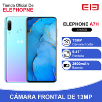 ELEPHONE A7H Helio P23 4GB RAM 64GB ROM Smartphone 6.4 Octa Core Android 9.0 3900mAh Fast Charging Fingerprint Recognition