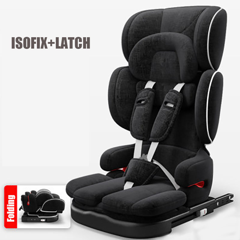 Folding Child Car Seat Portable Baby Car Safety Seat Adjustable Kids Car Seat Baby Chair Baby Car Booster Seat for 9-36kg