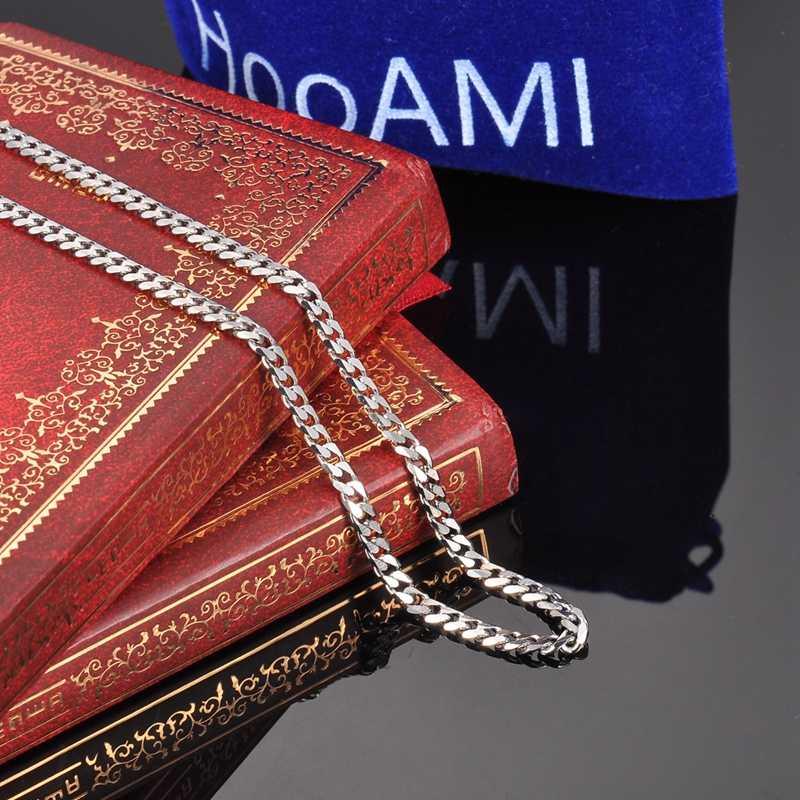 FUNIQUE acier inoxydable ton argent torsadé corde Mix chaîne collier pour la fabrication de bijoux hommes femmes longue chaîne collier bijoux