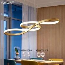 מודרני חדש Creative LED תליון אורות מטבח אלומיניום סיליקה השעיה תליית כבל מנורה לחדר אוכל lamparas colgantes