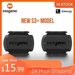 Magene S3 + Датчик скорости ANT + Bluetooth, измеритель скорости для компьютера Strava Garmin iGPSPORT Bryton, двойной датчик, велосипедный компьютер