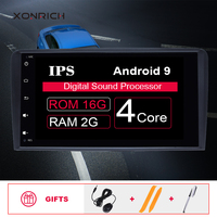 IPS DSP 2 din Android 9 Car Radio Multimedia Player For Audi A3 8P S3 2003 2012 RS3 Sportback GPS DVDNavigation head unit stereo