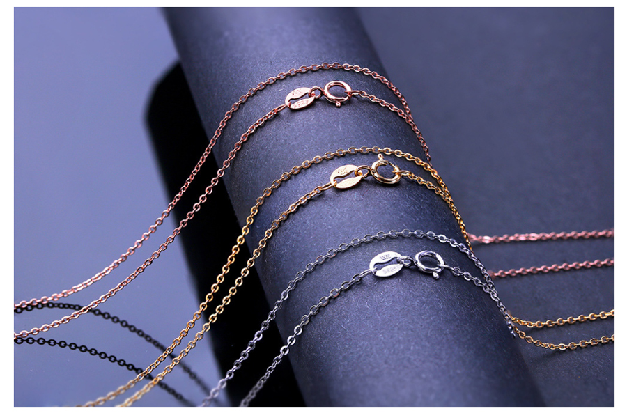 silver chain for women  (7)