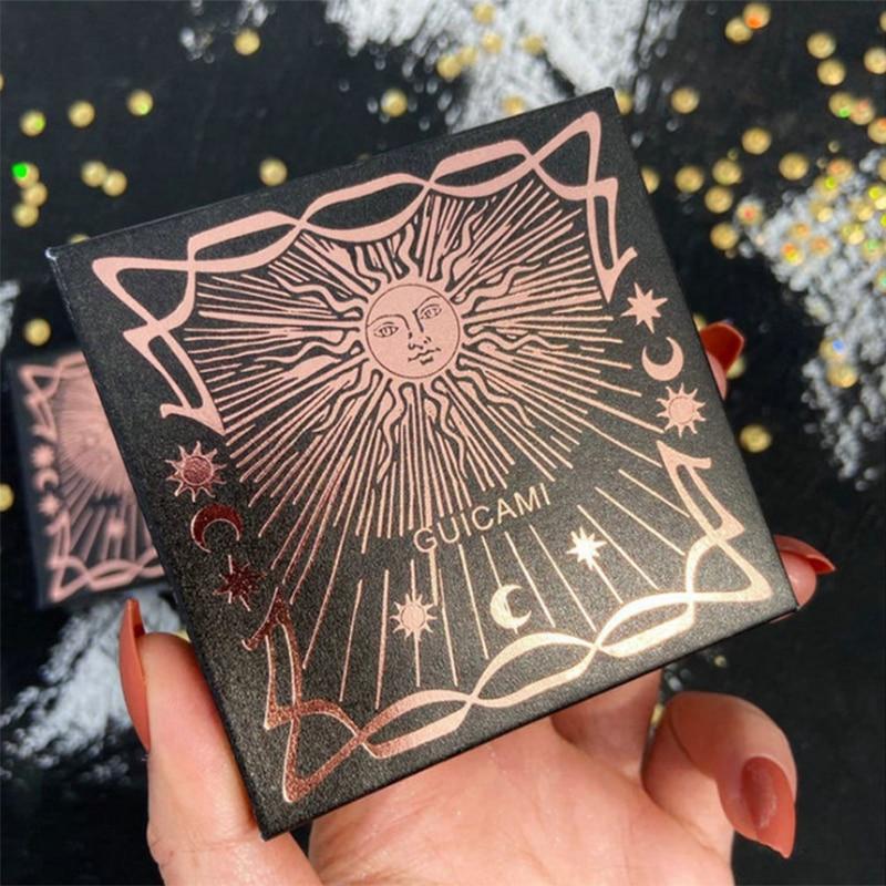 Sun God Tarot Brand Star Moon High Gloss Powder Polarized Unicorn High Gloss Three-dimensional Repair And Brighten Skin Color