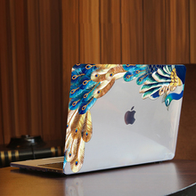 MTT Peacock Feather Crystal Case For Macbook Air Pro 11 12 13 15 16 inch 2020 Laptop Cover for macbook Pro 13 funda a2289 a2251