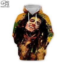 PLstar Cosmos Reggae Bob Marley Tracksuit Colorful 3DPrint Hoodie/Sweatshirt/Jacket/shirts Men Women hiphop casual new fashion Swag cool s-11