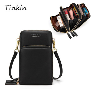 Drop Shipping Colorful Cellphone Bag Fashion Daily Use Card Holder Small Summer Shoulder Bag for Women(China)