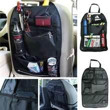 Universal dwaterproof assento de carro volta organizador saco armazenamento multi bolso pendurado saco variedade 58x38cm acessórios do carro
