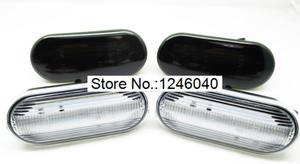 Image 2 - 2PCS Led Dynamic Side Marker Turn Signal indicator Light Sequential Blinker for VW Bora Golf 3 4 Passat Vento T5 Polo SB6 Sharan